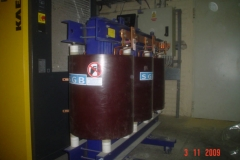 Transformator żywiczny 630kVA 15,75/0,4kV – Sędziszów Małopolski